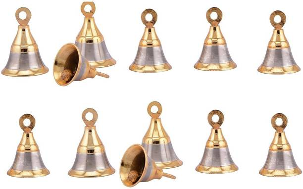 Smart Shophar 2 Inch Brass Decorative Bell