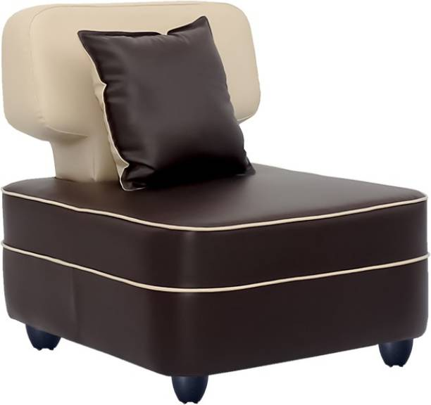 Bharat Lifestyle Butterfly Leatherette 1 Seater  Sofa