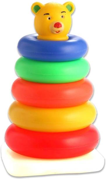 Lodestone Stacking Toys for Kids Teddy Ring