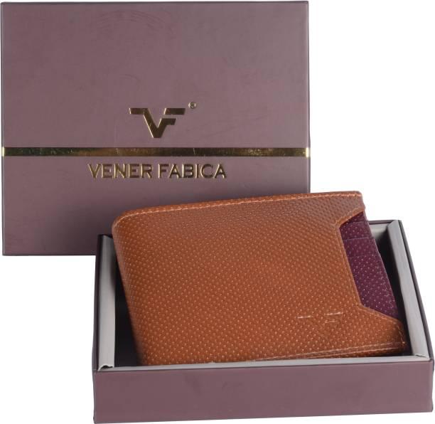 Vener Fabica Men Tan Genuine Leather Wallet 5c58a88b5f78b