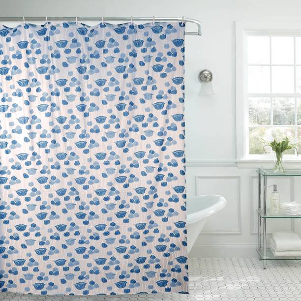 E Retailer 213 Cm 7 Ft Pvc Shower Curtain Single