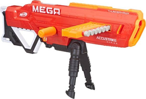Nerf Thunderhawk AccuStrike Mega Toy Blaster Guns & Darts