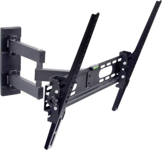 """MX Heavy Duty Moving Arm Lcd Monitor Stand 26 To 55"""" 180 Degree Rotation Led Wall Bracket Holder Full Motion TV Mount"""