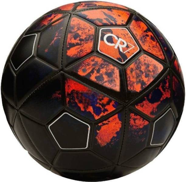 RASON Red CR7 PVC FOOTBALL (SIZE 5) Football - Size: 5