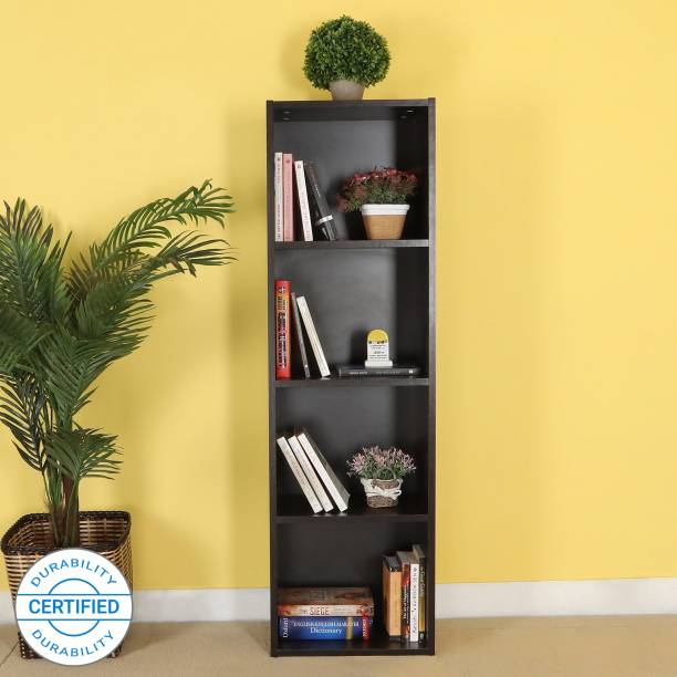 Home Full Alan Engineered Wood Open Book Shelf