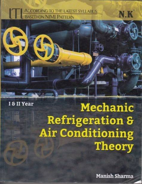 ITI Mechanic Refrigeration & Air Conditioning Theory I & II Year English