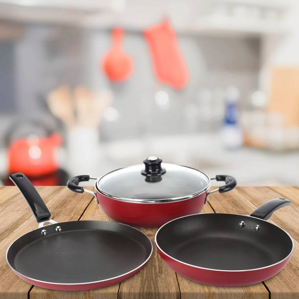 Flipkart SmartBuy Induction Bottom Cookware Set of 3