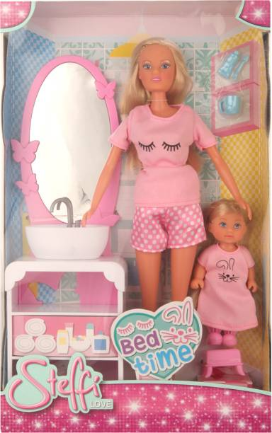 SIMBA Pink Color SL Bedtime Doll Specially For Baby Girl