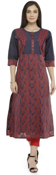 31af1ee7365 Riya Fashion Women Printed A-line Kurta