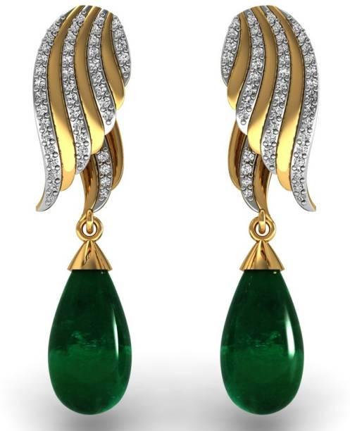 6b293da82 Rose Gold Earrings - Buy Rose Gold Earrings Online at Best Prices In ...