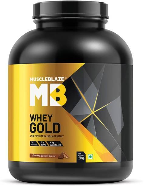 MUSCLEBLAZE Whey Gold 100% Whey Isolate Whey Protein