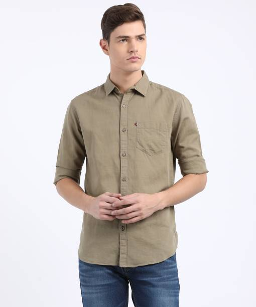 207b6366bb Linen Shirts - Buy Linen Shirts online at Best Prices in India ...