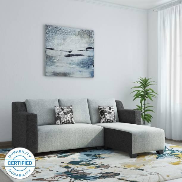 Bharat Lifestyle Divine Fabric 5 Seater  Sofa