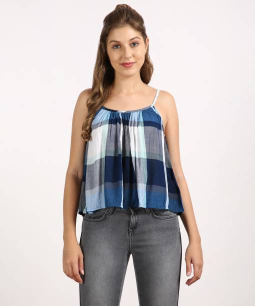 46ab16b0c16 Sleeveless Tops - Buy Sleeveless Tops Online at Best Prices In India ...