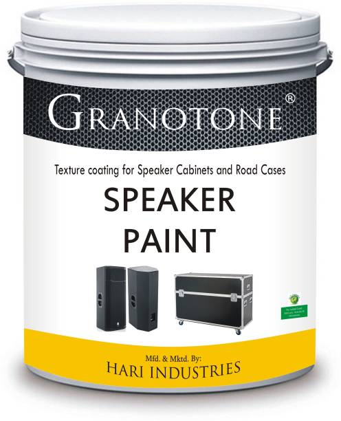 Granotone Spray Grade Speaker Cabinet Texture Coating BLACK Functional Wall Paint
