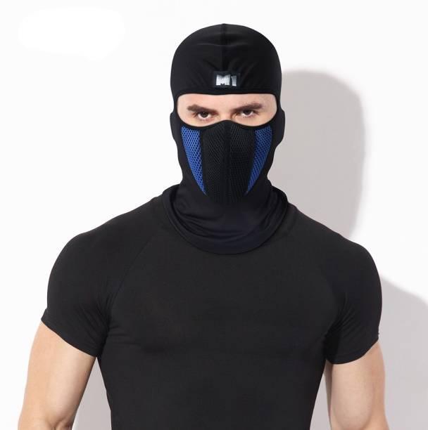 9f59be7c814 Friendskart Blue Bike Face Mask for Men   Women