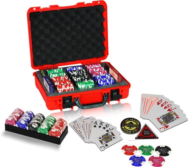 Casinoite Billium 300 Poker Clay Chips Set