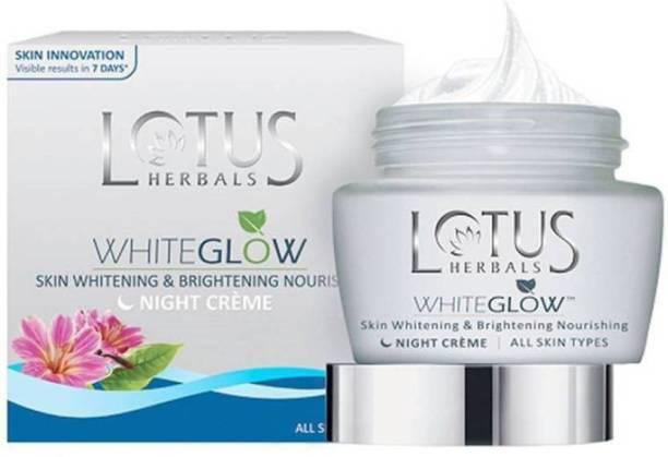 LOTUS HERBALS WhiteGlow Skin Whitening & Brightening Nourishing Night Cream