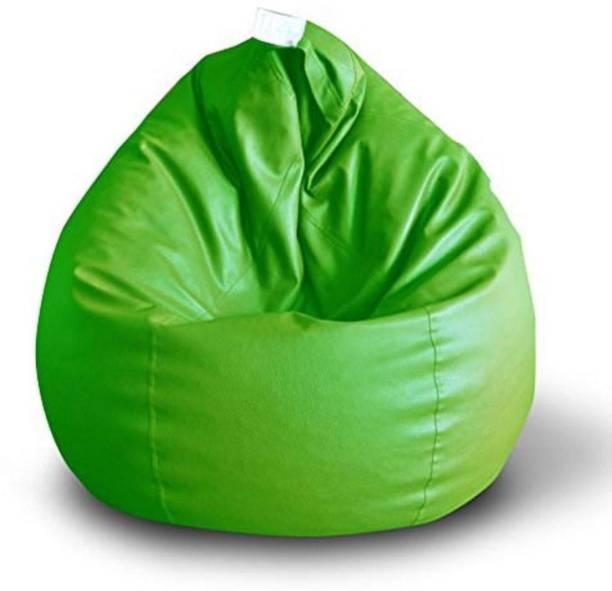 RKBeanbag XXXL Tear Drop Bean Bag Cover  (Without Beans)