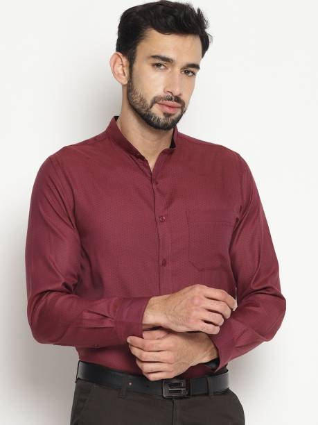 e45466bc4 Mandarin Collar Shirts - Buy Mandarin Collar Shirts Online at Best ...