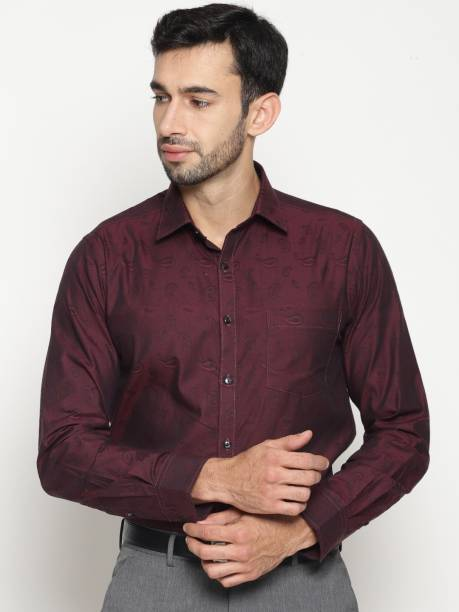 2c063f115b0 Maroon Shirts - Buy Maroon Shirts Online at Best Prices In India ...