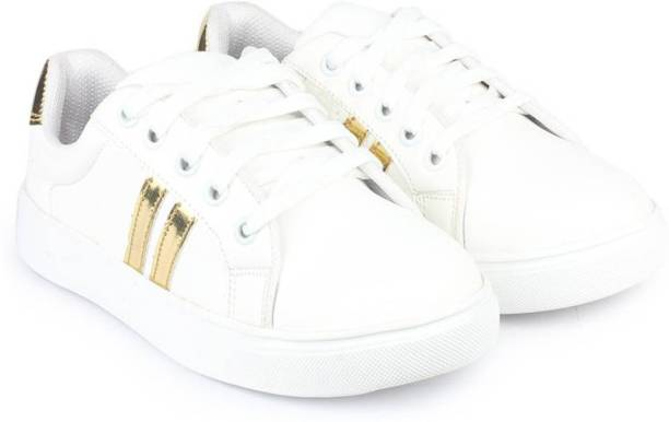 Earton White-765 Sneakers For Women