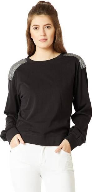 Sweatshirts - Buy Sweatshirts   Hoodies for Women Online at Best ... bd07c29328dd