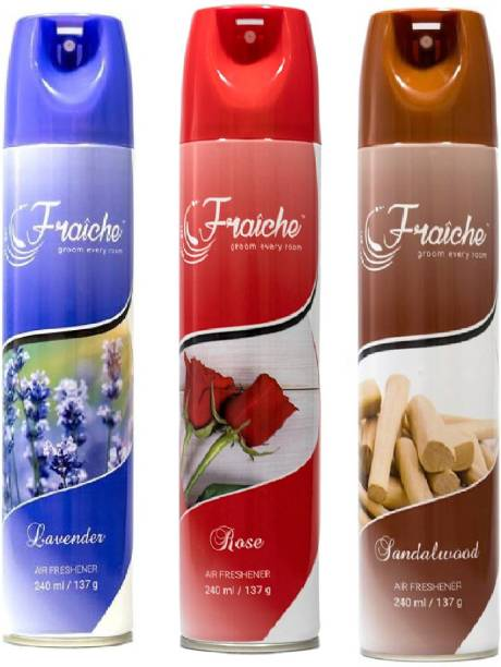 fraiche Room Sprey lavender, rose, sandelwood Diffuser