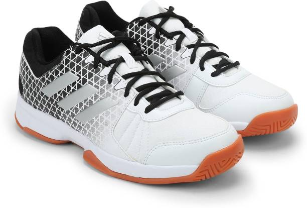 reputable site aade6 d0a31 ADIDAS NET NUTS INDOOR Badminton Shoes For Men