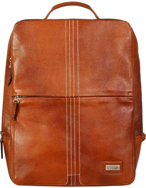 fdfa2f35dbe5 Leather Backpacks - Buy Leather Backpacks Online at Best Prices In ...