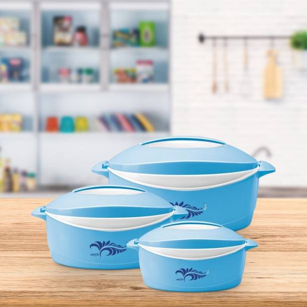 MILTON Delight Pack of 3 Thermoware Casserole Set