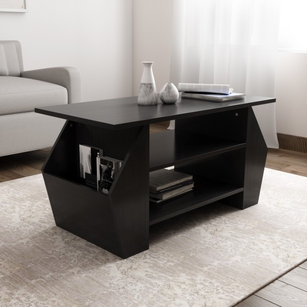 Crystal Furnitech Avia Engineered Wood Coffee Table