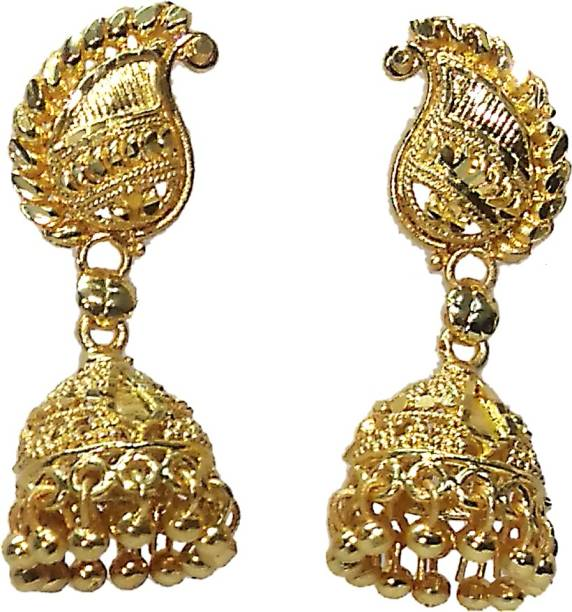 bf3a7490c51 Gold Jhumka - Buy Gold Jhumka online at Best Prices in India ...