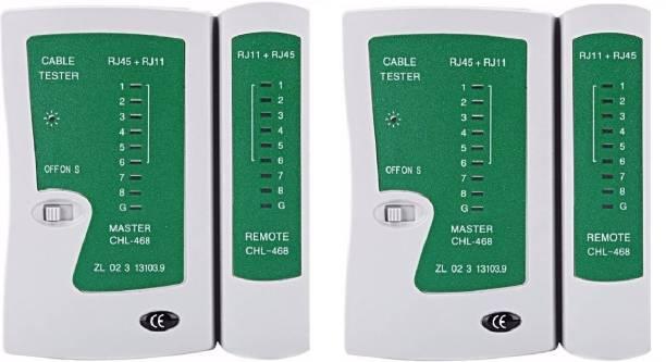 Teratech (Pack of 2) New Mini Pro Rj45 & Rj11 Lan Deta Cable Tester Network Interface Card
