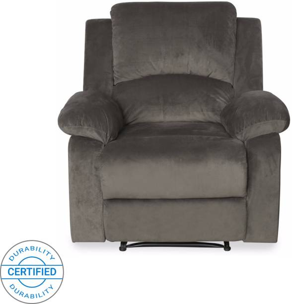 @Home by nilkamal Fabric Manual Recliners Recliner