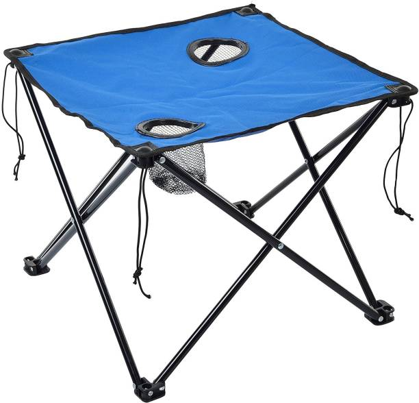 Iris Foldable Table For Travelling, Camping, Car, Lawn and Home Outdoor & Cafeteria Stool