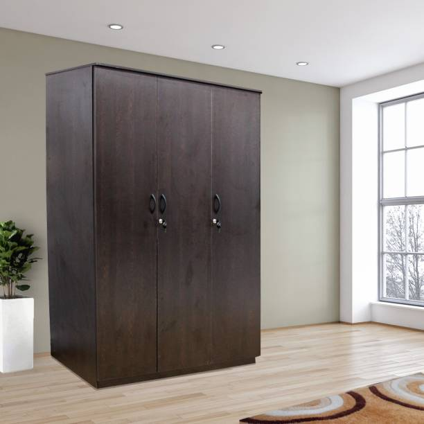 mobel furniture kf 6108 engineered wood 3 door wardrobe