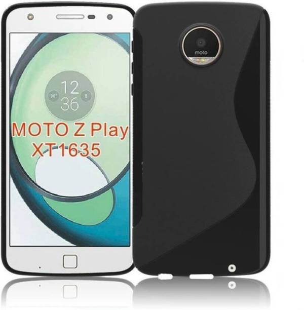 GBKS Back Cover for Motorola Moto Z Play Black