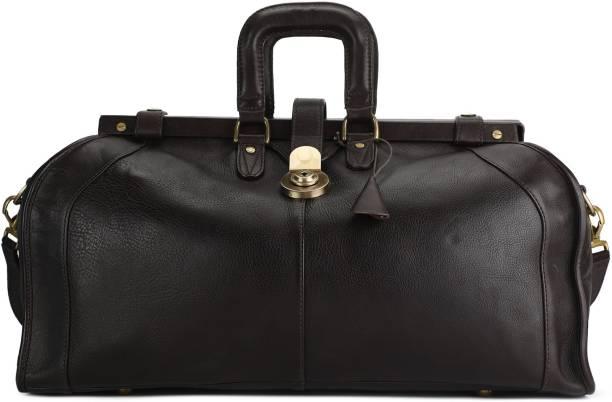 2371af54c1 Hidesign SAFARI-SOWETO MAORI-BROWN Travel Duffel Bag
