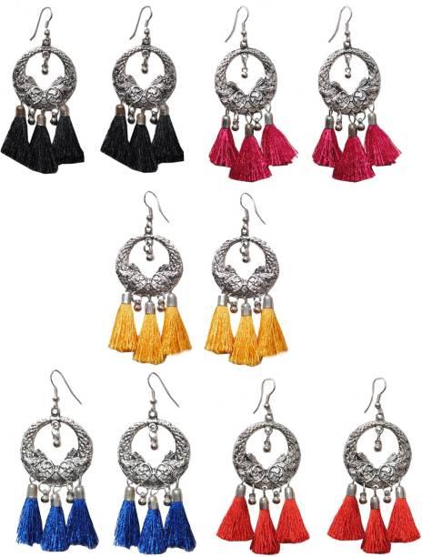 b754eadd4 Thread Earrings - Buy Thread Earrings online at Best Prices in India ...
