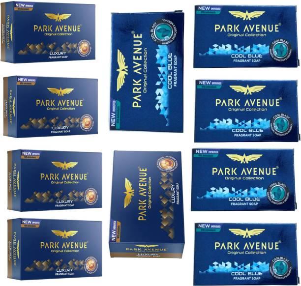 PARK AVENUE LUXURY FRAGRANT SOAP 125 GM+COOL BLUE FRAGRANT SOAP 125 GM