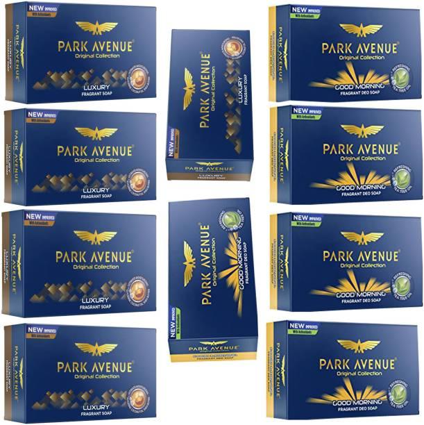 PARK AVENUE GOOD MORNING FRAGRANT SOAP 125 GM.+LUXURY FRAGRANT SOAP 125 GM