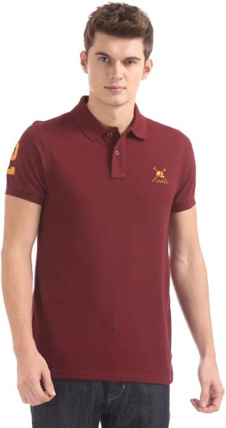 e97c3d00ba0 Polo T-Shirts for men s - Buy Mens Polo T-Shirts Online at Best ...