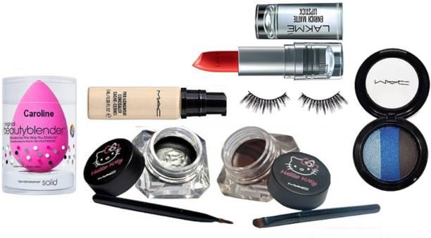 5a40aa097b caroline sponge puff & mac pro longwear concealer & hello kitty eyeliner  two blam with mac