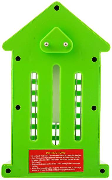 SLICETER HUT SHAPE ELECTRONIC INSECT & MOSQUITO KILLER WITH NIGHT LIGHT LAMP WITH FLY KILLER PACK OF 1