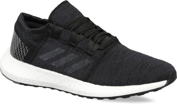 45773eea3fa14 best cheap adidas pureboost go shoes black womens sneakers b75665 ...