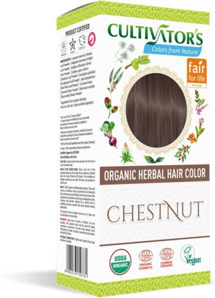 Cultivator's Organic Herbal Hair Color , Chestnut