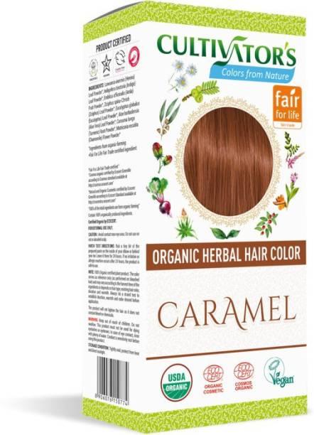 Cultivator's Organic Herbal Hair Color , Caramel