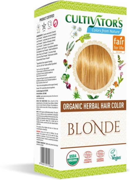 Cultivator's Organic Herbal Hair Color , Blonde