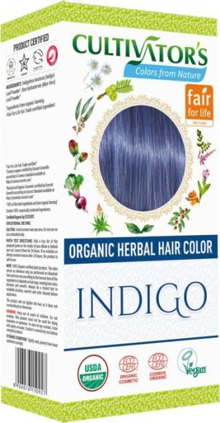 Cultivator's Organic Herbal Hair Color , Indigo